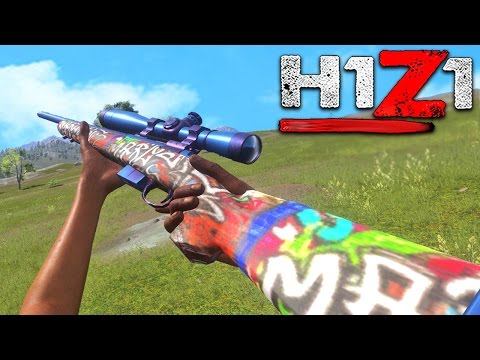 H1Z1 - WINNING A GAME WITH A NO SCOPE! H1Z1 Skirmish Sniper And SHotgun ONLY (H1Z1 King Of The Kill)