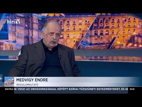 Magyarország élőben Medvigy Endrével (2020-02-12) - HÍR TV