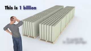 3D Animation, What 1 Trillion Dollars Looks Like