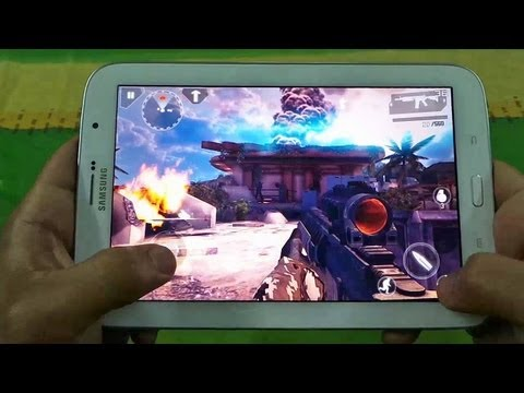 Best Graphics Games On Samsung Galaxy Note 8 N5110 With FPS Meter Review 1
