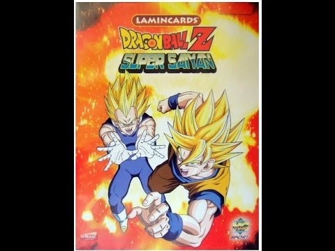 coleccion completa dragon ball z lamincards super saiyan de mundicromo