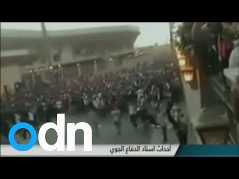 TV shows footage of deadly football stadium clashes