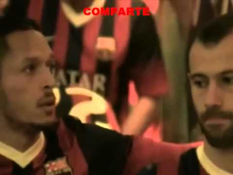 Messi vomited in the tunnel before Barcelona vs Athletic Bilbao (Full Video) 2014