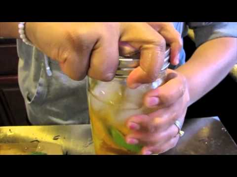How To Make Fresh Fruit Infused Water | Shout Outs At The End