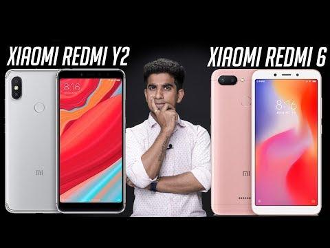 Xiaomi Redmi Y2 vs Xiaomi Redmi 6: Comparison overview [Hindi हिन्दी]