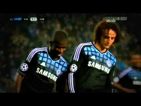 Ramires and David Luiz funny celebration