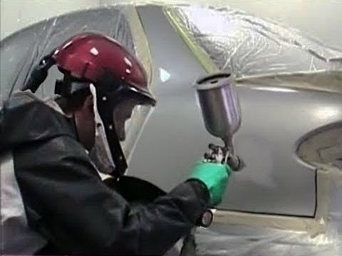 How to Paint Your Car Yourself - Auto Body Repair (1 of 2) - YouTube