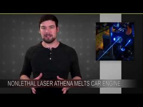 Non-Lethal Laser Weapon Athena Melts Car Engine | Technophiles Newscast 059