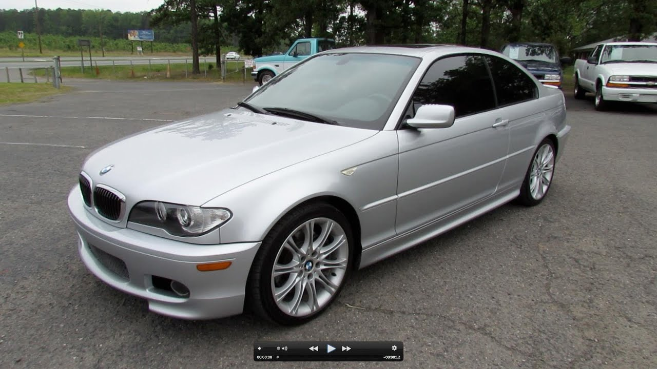 2006 bmw 330ci zhp start up exhaust test drive and in. Black Bedroom Furniture Sets. Home Design Ideas
