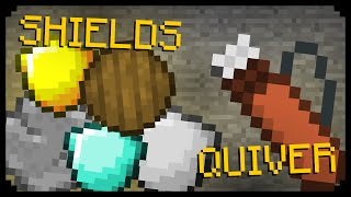 ✔ Minecraft: Shields and Quivers! (Quick News)