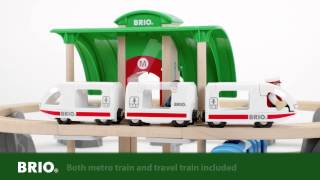 BRIO Metro City Train Set 33514 English