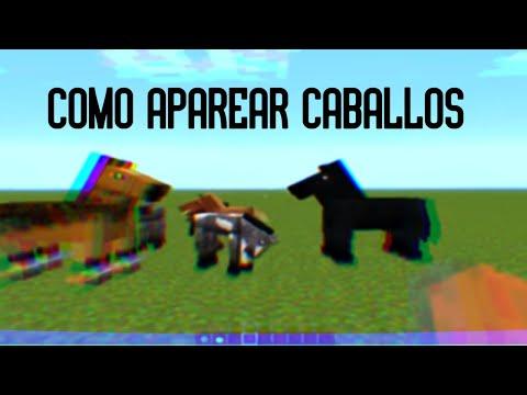 Como aparear/criar caballos en minecraft 1.6.1