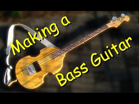 Making An Electric B Guitar