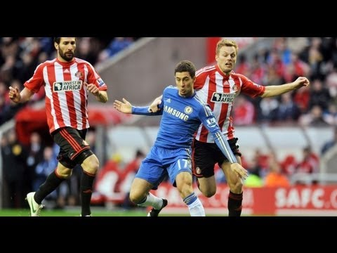 Chelsea 2-1 Sunderland 7/4/2013 All Goals/Full Highlights HD