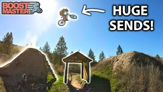 AMAZING Big Mountain FREERIDE in KAMLOOPS! & Fast Downhill at Harper Mtn | Jordan Boostmaster