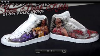 How to Airbrush Shoes w/ Kent Lind
