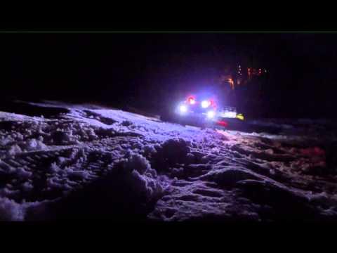 Erste Spuren im Schnee 13 14