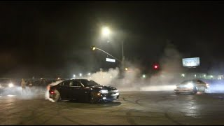 POLICE CHASE STREET DRIFTERS ALL NIGHT!