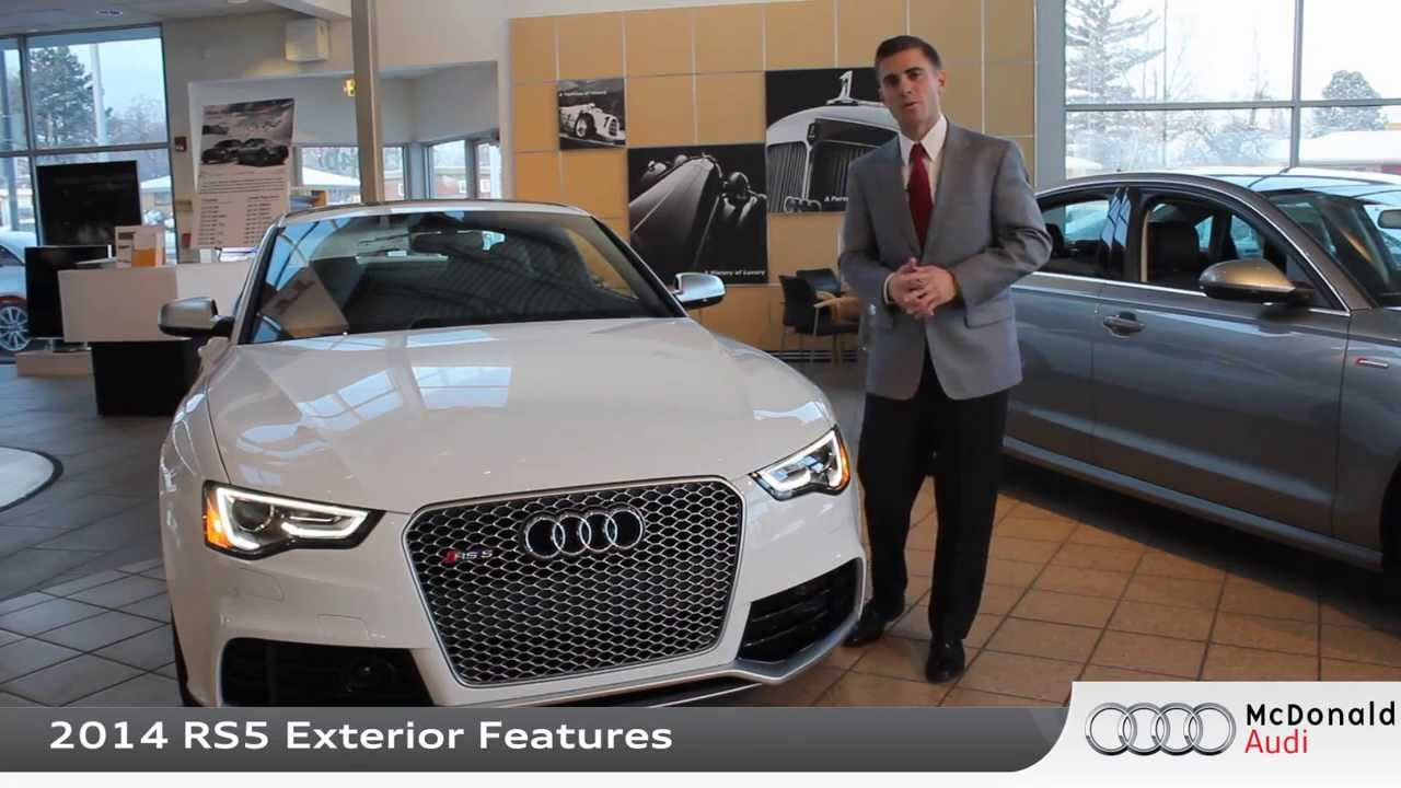 2014 Audi A5 2014 Audi Rs5 Mcdonald Audi Youtube