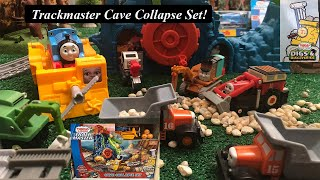 Thomas and Friends Toy Train Set-Trackmaster Cave Collapse Set!