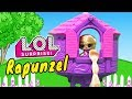 Rapunzel Story ! Toys and Dolls Pretend Play for Kids Fun with LOL Surprise Custom Doll | SWTAD