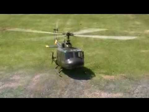 Turbine Huey Scale Helicopter, Taylormadehelicopters.com