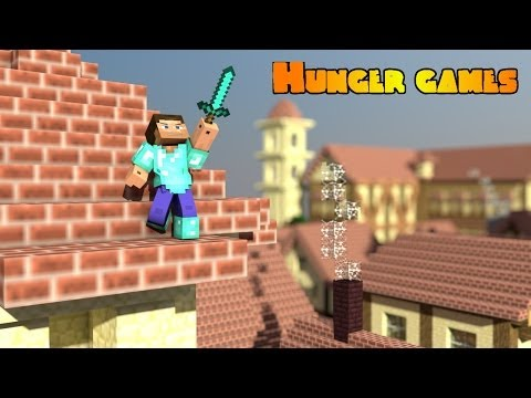 Minecraft PE Hunger Games ! : Diamond Sword !