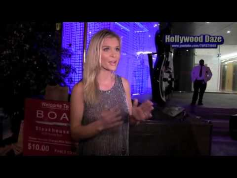 Joanna Krupa Romain Zago @ Boa Steakhouse