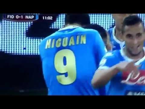 Fiorentina Napoli Gol a giro di Lorenzo Insigne