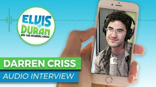 Darren Criss Describes 'Nacho Fries' Shower for Taco Bell Commercial | Elvis Duran Show