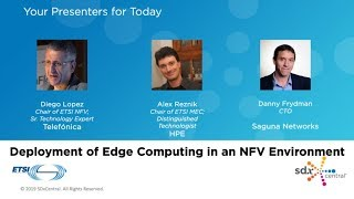 ETSI Video Series: Deployment of Edge Computing in an NFV Environment
