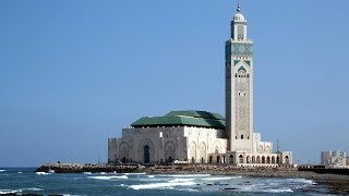 Download মহাসাগরে ভেসে বেড়াচ্ছে যে ভাসমান মসজিদ । Grand Mosque Hassan II 3Gp Mp4