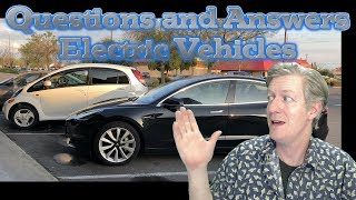 Questions and Answers - Electric Vehicles -EVs
