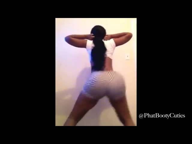 Black Girl Huge Booty Shaking