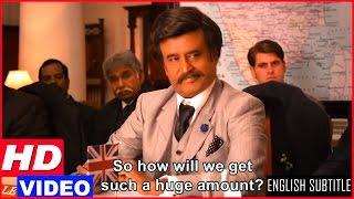 Lingaa Tamil Movie Scenes HD   Rajinikanth fights with the Govt for the dam   KS Ravikumar