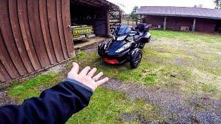 FLIGHT MISSION!! - On a 2016 Spyder RT! | MotoVlog 257