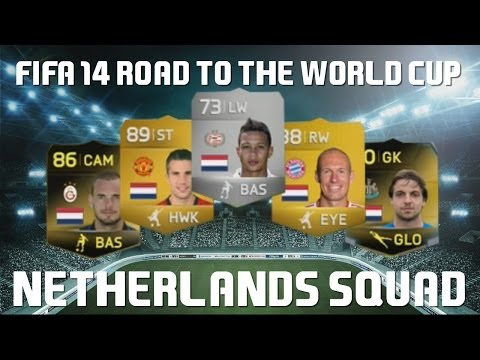 "FIFA 14 ""Netherlands Squad"" Road to the World Cup Ep6"