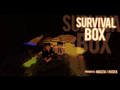 Minecraft Survival BOX - Husiek & Madzik89 odc. 1