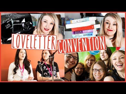 LoveLetter Convention 2017 | Vlog & Bücher Haul & Unboxing