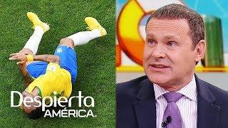 Alan Tacher indignado por las caídas 'actuadas' de Neymar en el Mundial