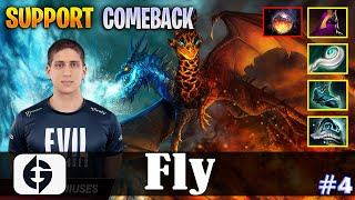 Fly - Jakiro Offlane | SUPPORT | COMEBACK | Dota 2 Pro MMR Gameplay #4