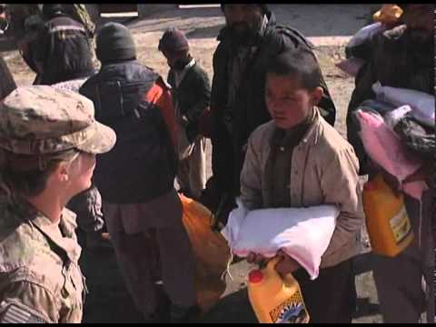 Afghan, Coalition Forces Use Aid to Connect Civilians to Their Government