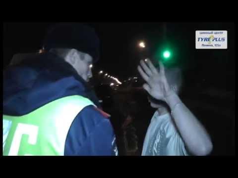 ДТП три машины пьяная женщина ул. Щорса. Место происшествия 06.04.2015