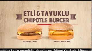 Burger King® - Chipotle Burger Kampanyası