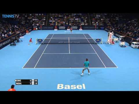 Basel 2014 Friday Hot Shot Coric Nadal