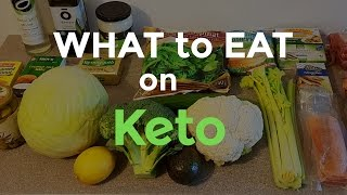 What to eat on the Ketogenic Diet   Our Keto food staples