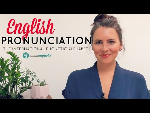 Improve your English Pronunciation!
