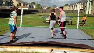 Dgw Backyard Wrestling R A T Vs Kevin Bradshaw