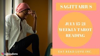 "SAGITTARIUS - ""THEY MADE UP THEIR MIND"" JULY 15-21 WEEKLY TAROT READING"
