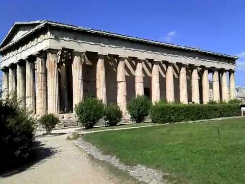 Athen Agora 3 , Tempel des Hephaistos